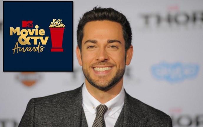 """Zachary Levi será el anfitrión de los """"MTV Movie & TV Awards 2019"""""""