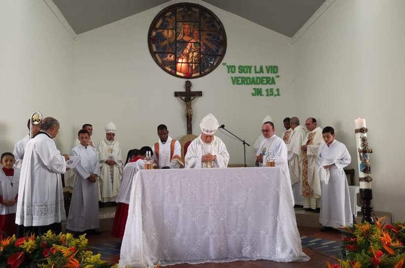 Así fue el acto donde Iglesia Católica de Cali pidió perdón a víctimas de cura pederasta