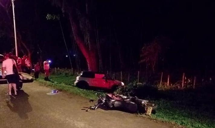 Agente de tránsito perdió la vida en un accidente vial en el Valle