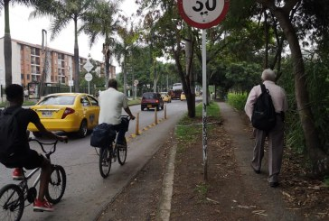 Con ciclopaseo, presentan nueva fase de bicicarriles en zona universitaria de Cali