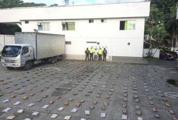 Operativos de la Policía en vías del Valle dejan 1 tonelada y media de droga incautada