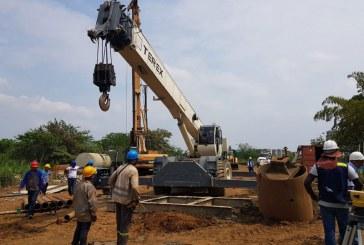 Avanza construcción de puente en avenida Ciudad de Cali que conecta a Bochalema con Valle del Lilí