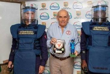 Cali fue declarado como territorio libre de minas antipersonales
