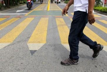 Colores y formas llamativas, apuesta que busca mejorar la seguridad vial de la Comuna 18