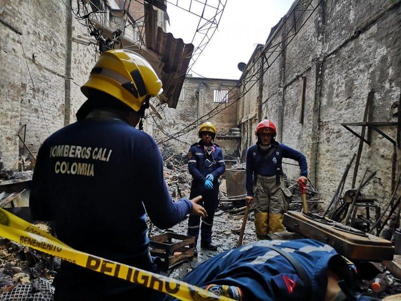 Comerciantes del centro de Cali entregaron desolador balance de pérdidas tras incendio