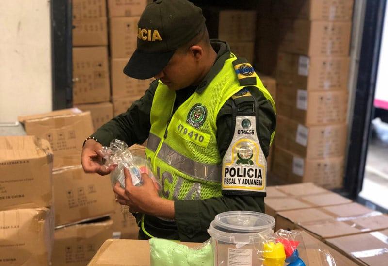 Contrabandistas iban a comercializar en Valle juguetes chinos sin registro Invima