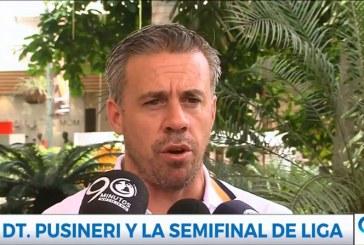 """""""Cosechamos lo que estamos sembrando desde el 4 de enero"""": Lucas Pusineri"""