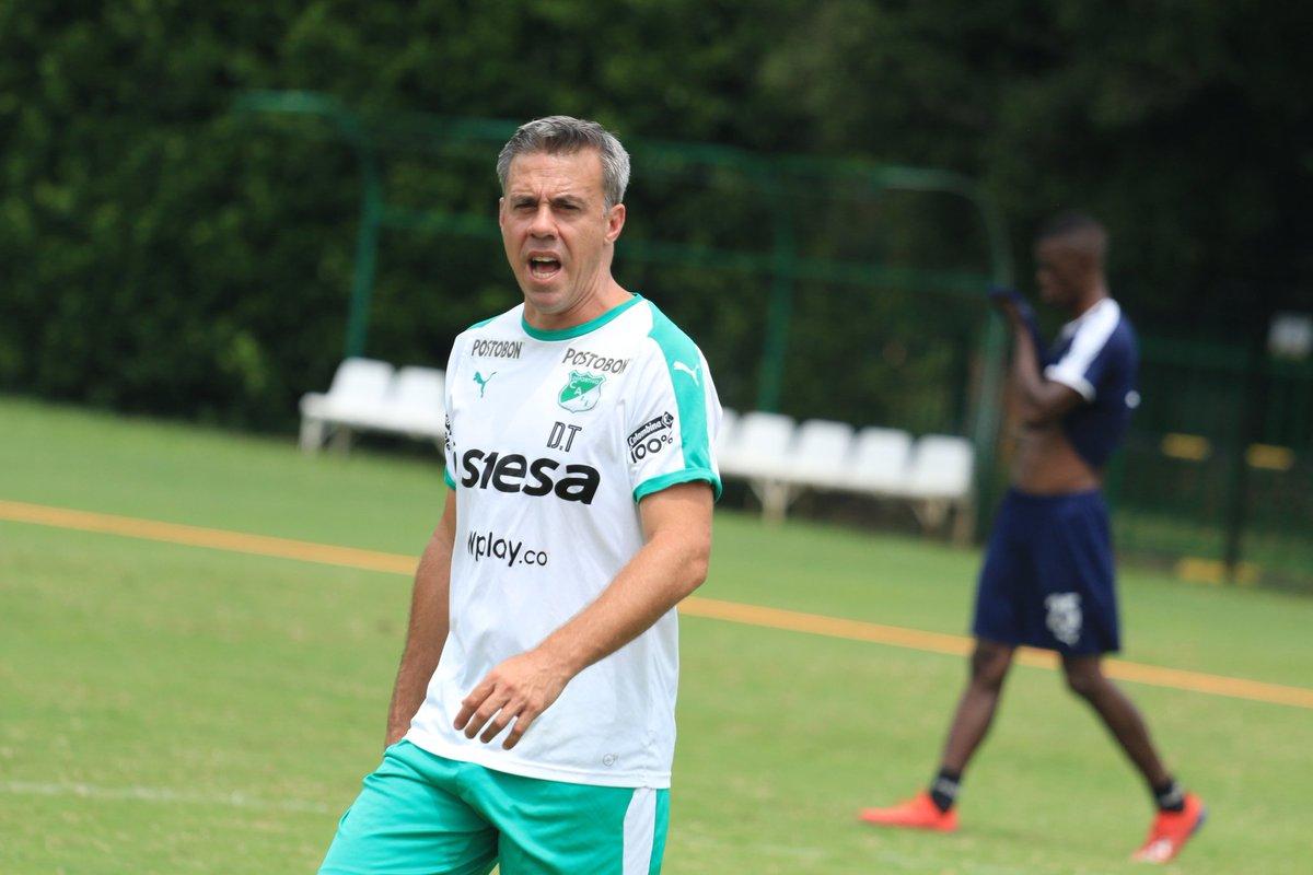 """""""Estoy muy contento por la clasificación, los jugadores merecen el reconocimiento"""":Pusineri"""