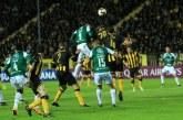 Deportivo Cali perdió en Montevideo ante Peñarol y se despidió de la Suramericana