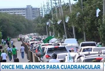 Deportivo Cali puso a disposición de la hinchada 11 mil abonos para cuadrangulares
