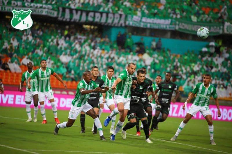 Deportivo Cali pintó de verde Medellín tras vencer al Atlético Nacional 3-1