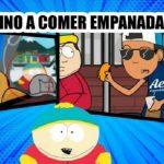 Cartman, de South Park, vino a comer empanadas