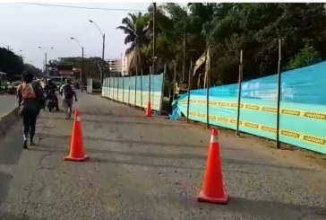 Enorme trancón se vivió en la vía Cali-Jamundí tras emergencia por daño en tubo de gas