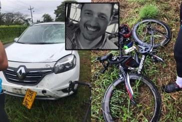Falleció ciclista que había sido atropellado por un carro en vía Alfaguara-Cali