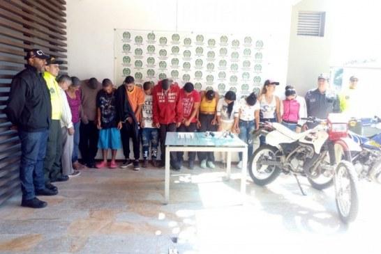 Cayeron en Yumbo 'Los Heladios', banda dedicada al sicariato y tráfico de droga