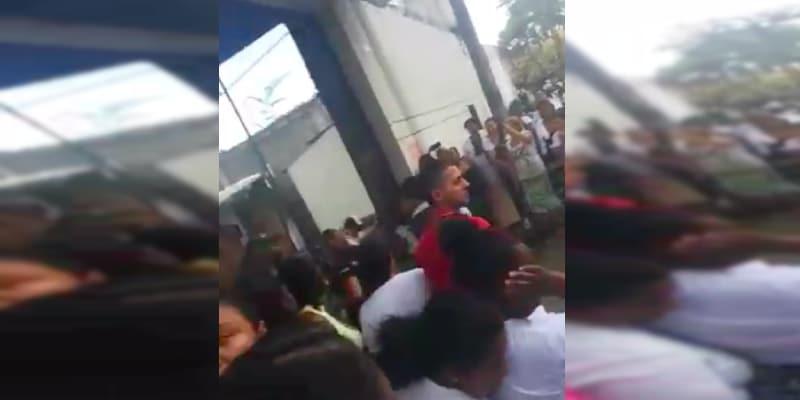 Varios heridos tras enfrentamientos en el centro de formación El Buen Pastor