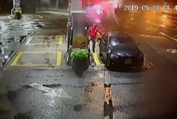 Mujer pagó hurto que jóvenes hicieron a bordo de BMW en bomba de Cali ¿quiénes eran?