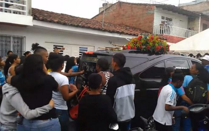 Madre de futbolista Leidy Asprilla vivía en Chile y llegará hoy al Valle para su entierro