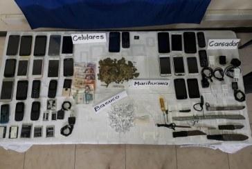 Lo que encontraron las autoridades tras inspección a celdas en cárcel de Buga