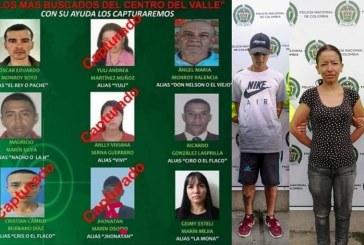 Cayeron dos de los 'más buscados' por la Policía en el centro del Valle del Cauca
