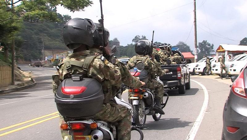 1.350 soldados llegarán a combatir la seguridad en el departamento del Cauca