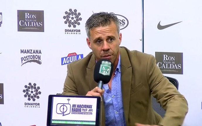 El argentino Lucas Pusineri deja la dirección técnica del Deportivo Cali