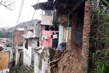 En riesgo 20 familias de Siloé por inestabilidad de terreno tras lluvias del fin de semana