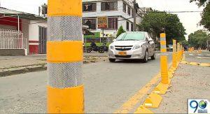 Secretaría de Movilidad responde tras polémica decisión de retirar bolardos en la Calle 9