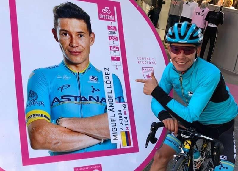 """""""Supermán López"""" la gran apuesta colombiana para el Giro de Italia 2019"""