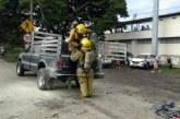 Tres adultos y un bebé resultaron heridos por explosión de cilindro de helio en Yumbo