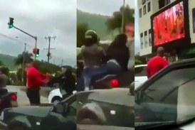 Tras video de presunta agresión de hombre a una mujer, hablan los involucrados