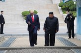 ¡Histórico! Donald Trump pisó suelo norcoreano este domingo