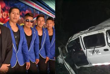 Avanza investigación tras muerte de tres integrantes de agrupación musical caucana