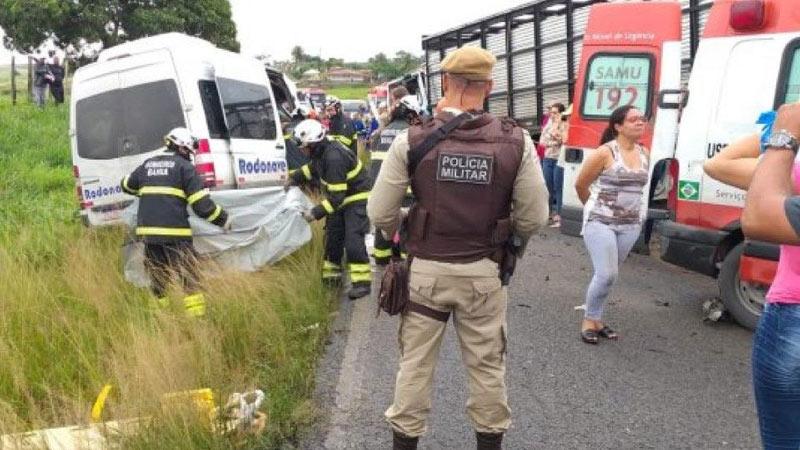 Accidente en carretera de Bahía, noreste de Brasil, deja ocho muertos
