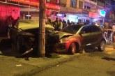 Aparatoso accidente en El Guabal dejó tres personas heridas y vehículos en pérdida total