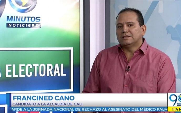 Agenda Electoral 90 Minutos: Francined Cano, candidato a la Alcaldía de Cali