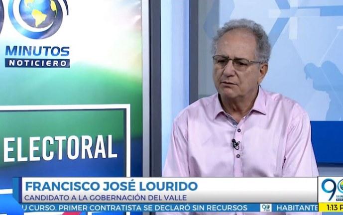 Agenda Electoral 90 Minutos: Francisco José Lourido, candidato gobernación del Valle