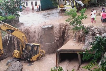 Al menos 300 viviendas afectadas dejó fuerte aguacero de este domingo en Roldanillo