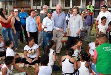 Caleños podrán disfrutar de 36 parques remodelados y amoblados por la Alcaldía