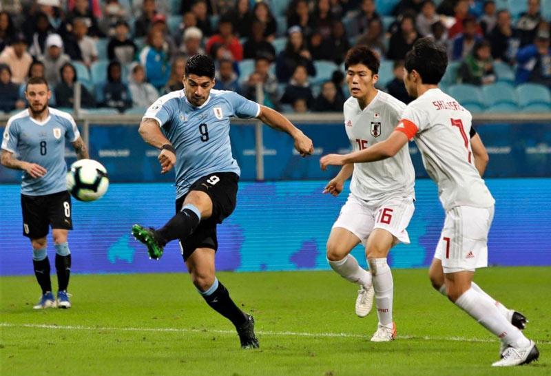 Aún no hay rival definido para Colombia: Uruguay no pasó del empate ante Japón