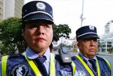 Guardas de tránsito de Cali tendrán cámaras en sus chalecos para grabar procedimientos