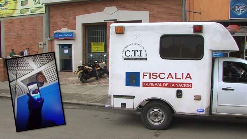 Capturado hombre que se desnudó para robar un cajero en Alfonso López