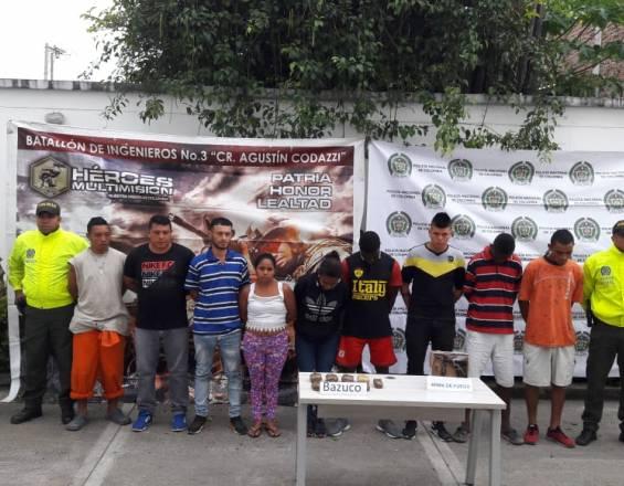 Capturados once integrantes de la banda 'Los Iguanos' en Pradera, Valle