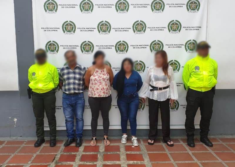 Cayó banda la 'Meduza' por robo a mujeres y locales comerciales en Cali