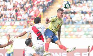 Colombia goleó a Perú en amistoso previo a la Copa América