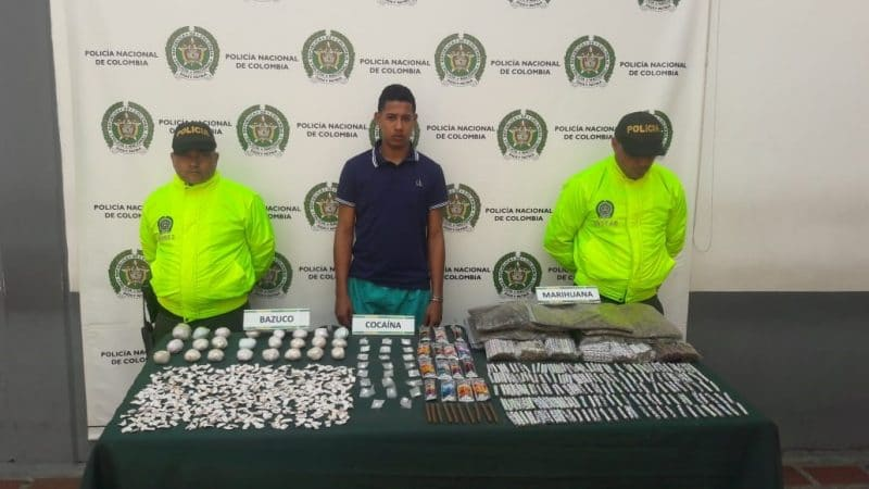 Desmantelan red de tráfico de drogas liderada por un ciudadano venezolano en Cali