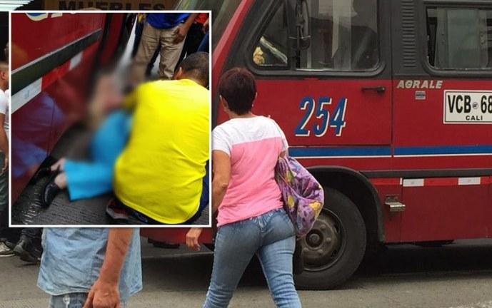 Dos mujeres heridas deja accidente de tránsito en el centro de Cali