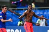 """""""Estoy feliz pero la Copa recién empieza"""", Duván Zapata, delantero 'Tricolor'"""
