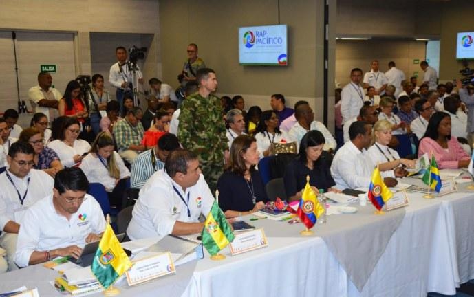 Gobernadores del Pacífico firmaron pacto para la ejecución de proyectos que beneficien el territorio