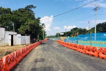 Tras pavimentación, habilitan primer tramo en obra de ampliación de vía Cali-Jamundí